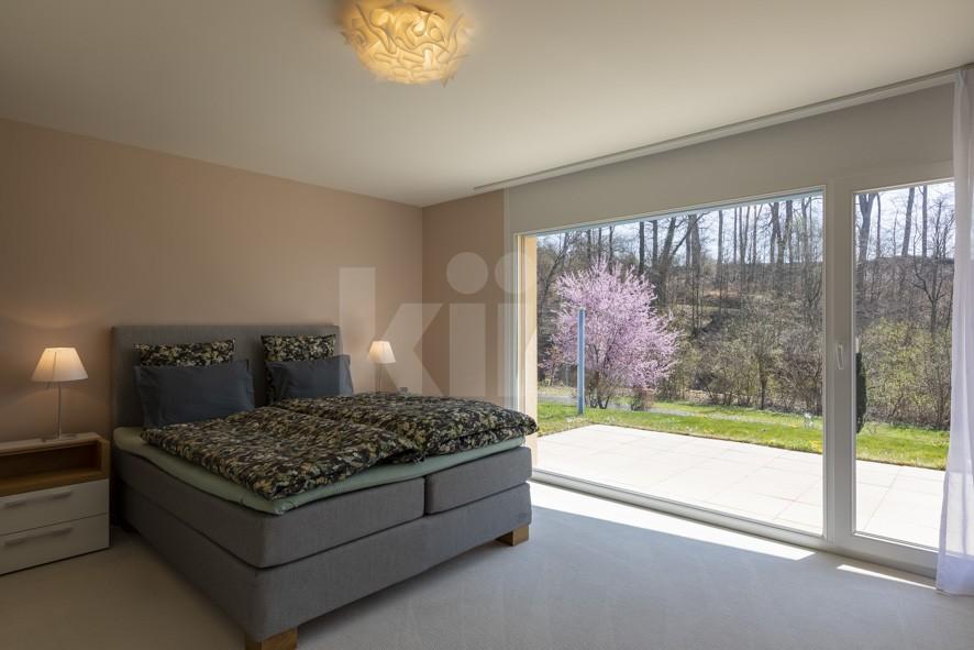 VENDU! Bel appartement contemporain avec jardin de 350 m2 - 8
