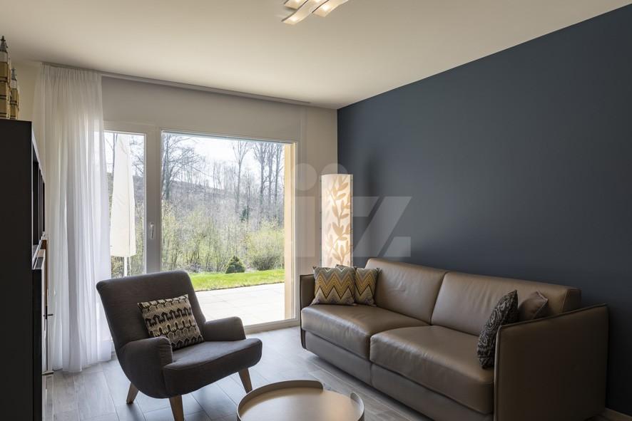 VENDU! Bel appartement contemporain avec jardin de 350 m2 - 9