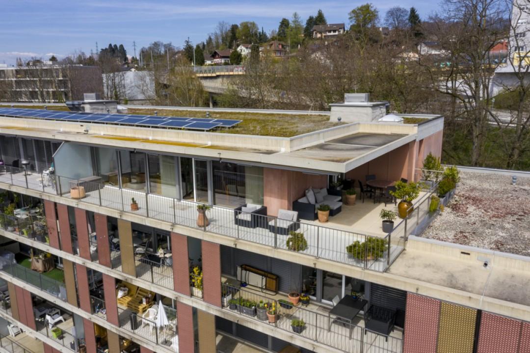Herrliche Penthouse-Wohnung mit schöner Terrasse von 70m2 - 13