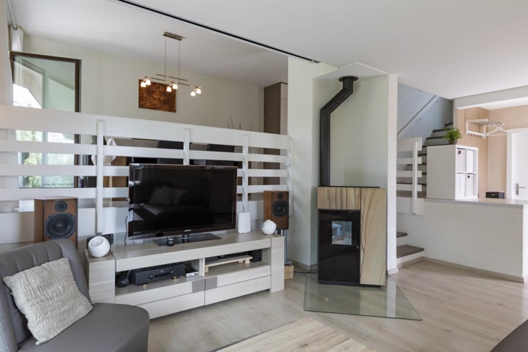 Schönes Doppeleinfamilienhaus mit uneinsehbarem Garten - 3