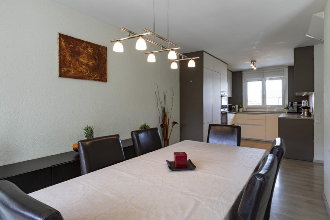 Schönes Doppeleinfamilienhaus mit uneinsehbarem Garten - 4