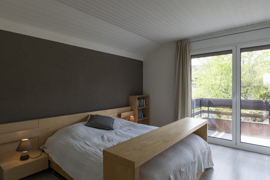 Schönes Doppeleinfamilienhaus mit uneinsehbarem Garten - 6