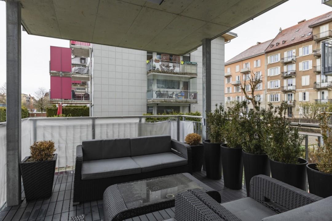 Moderne Wohnung mit optimalen Balkonflächen  - 11