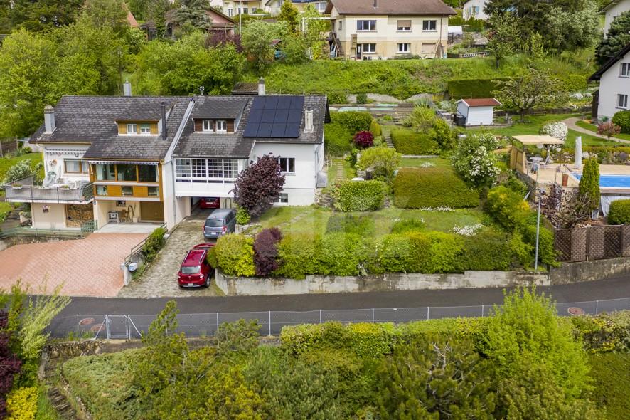 VENDU! Charmante villa mitoyenne avec agréable jardin - 12