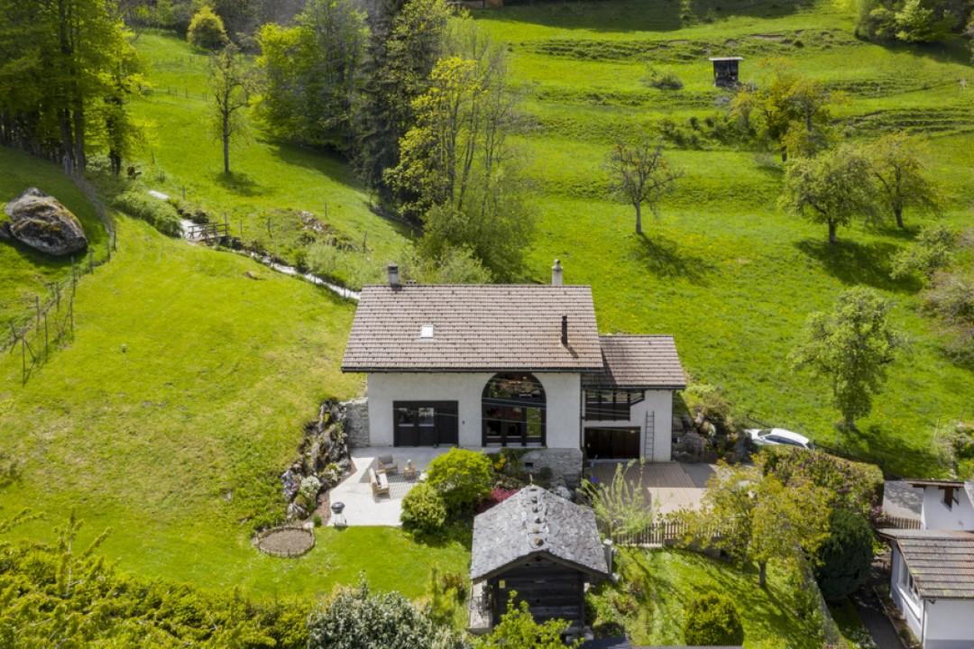 Haus mit Charakter in einer grünen Umgebung - 1