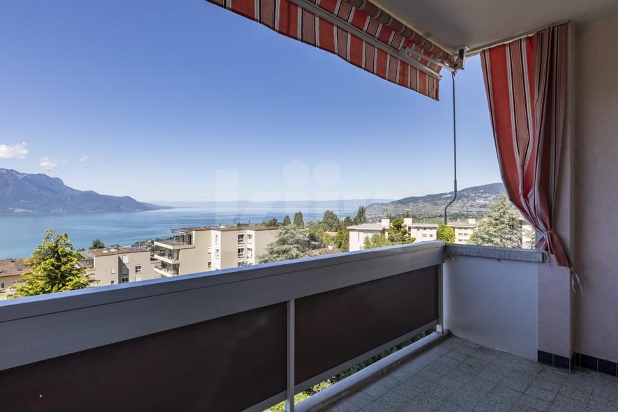 Superbe vue panoramique sur le lac et les montagnes - 12