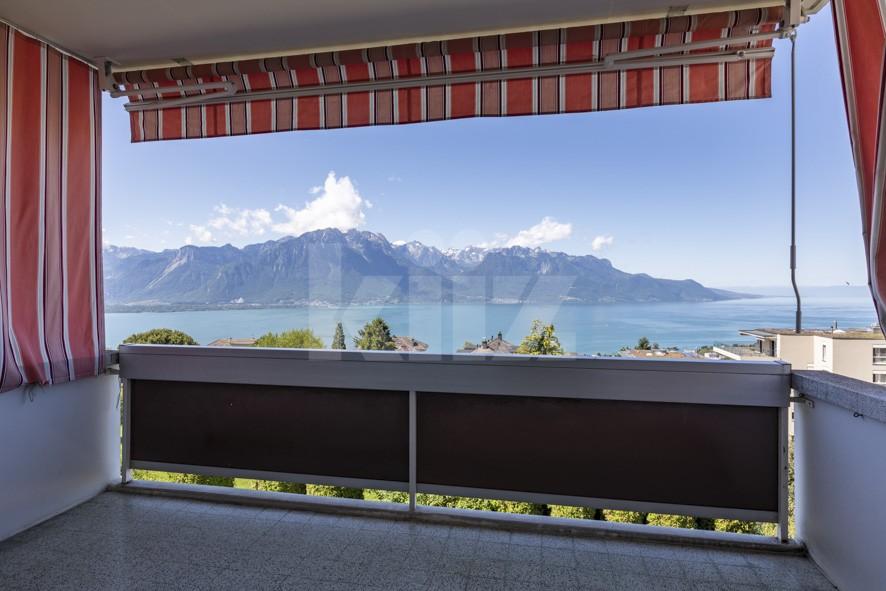 Superbe vue panoramique sur le lac et les montagnes - 11