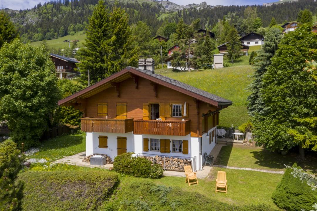 Perfekt gepflegtes Doppelhaus Chalet  - 1
