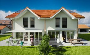 A vendre sur plan: six jolies villas mitoyennes