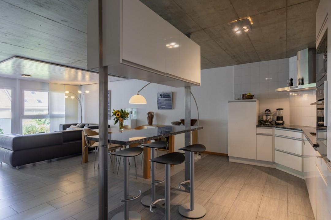 Spacieux duplex contemporain avec terrasse sud-ouest - 4