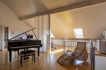 Spacieux duplex contemporain avec terrasse sud-ouest