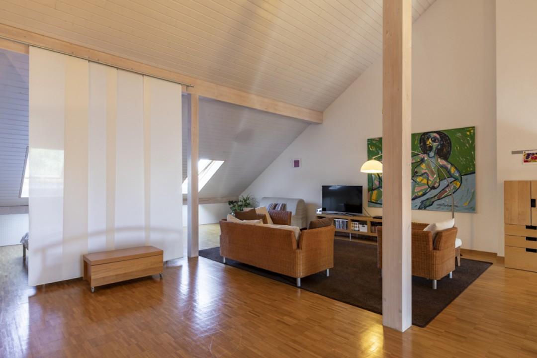 Spacieux duplex contemporain avec terrasse sud-ouest - 11