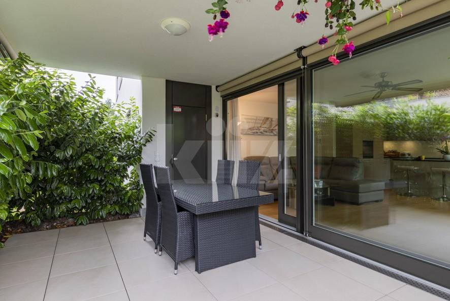 Herrliche Wohnung mit Terrasse und schönem Garten - 11