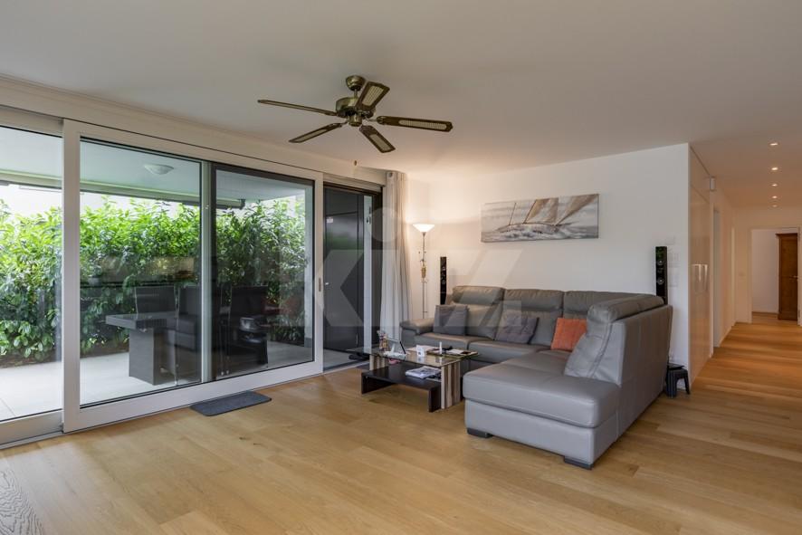 Herrliche Wohnung mit Terrasse und schönem Garten - 3