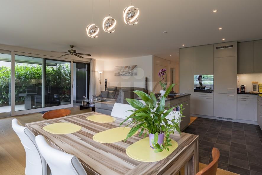 Herrliche Wohnung mit Terrasse und schönem Garten - 1