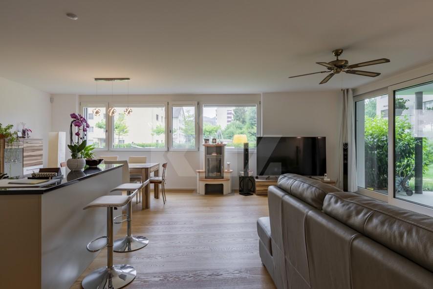 Herrliche Wohnung mit Terrasse und schönem Garten - 2