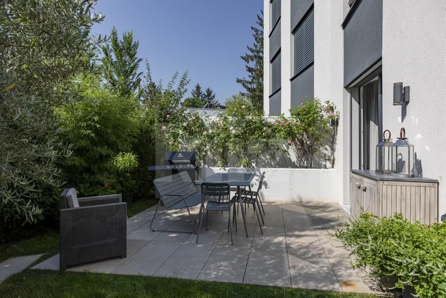Außergewöhnliche Wohnung mit toller Ausstattung und Garten - 12