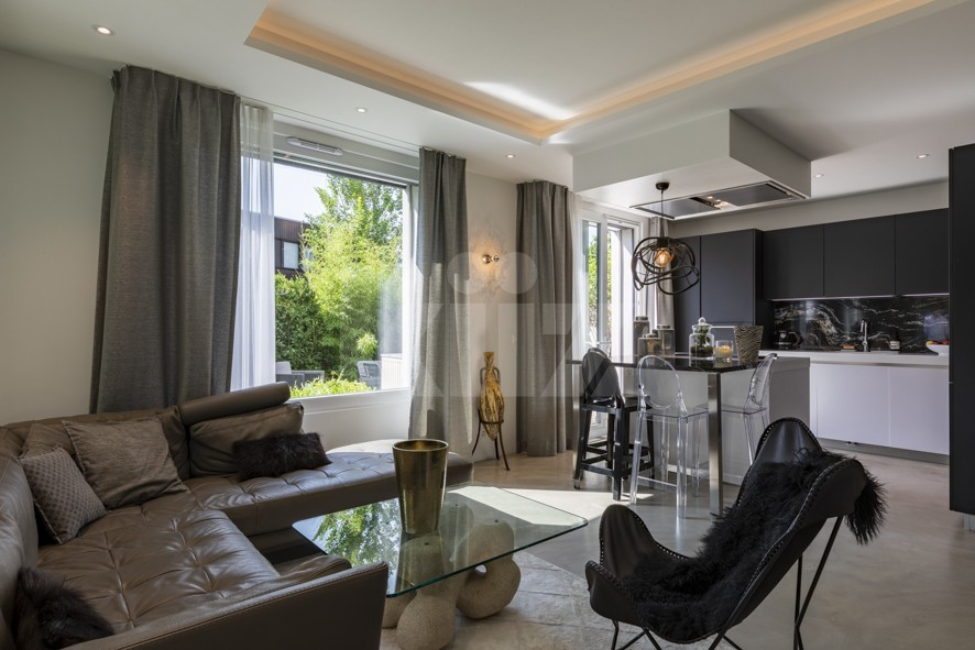 Außergewöhnliche Wohnung mit toller Ausstattung und Garten - 5