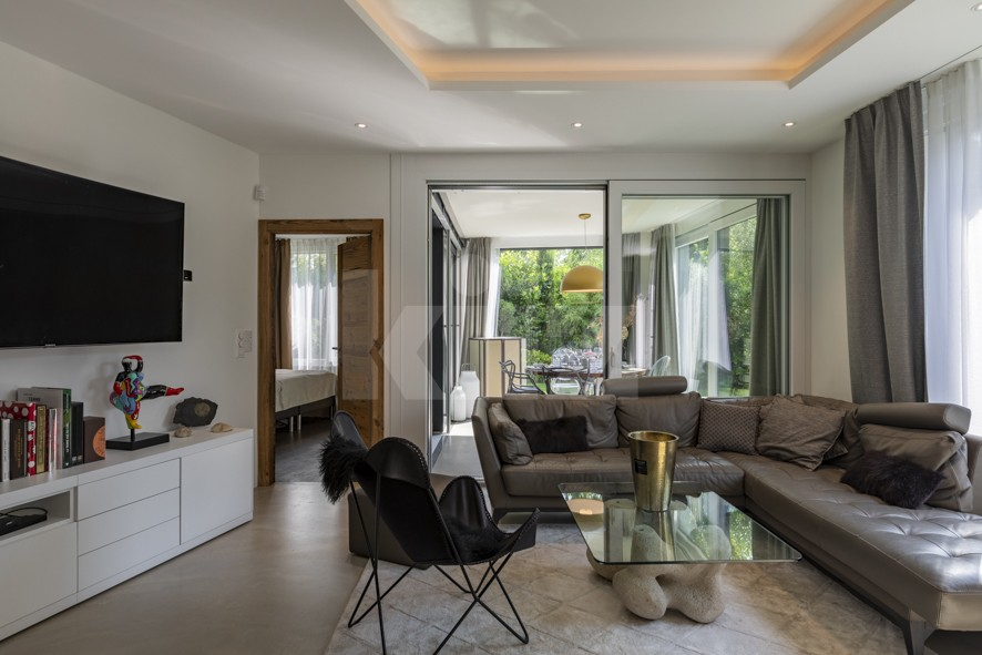 Außergewöhnliche Wohnung mit toller Ausstattung und Garten - 4
