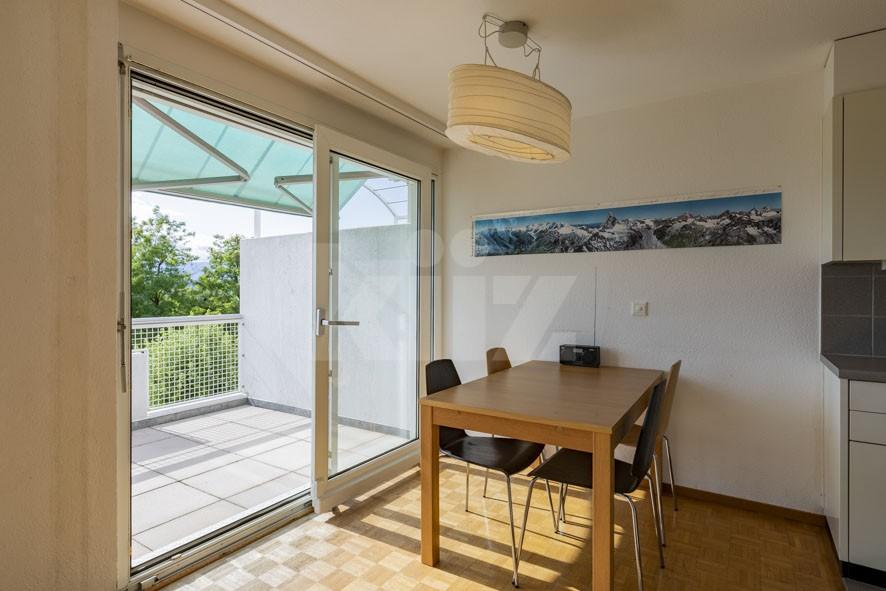 VENDU! Bel appartement au dernier étage avec terrasse - 4