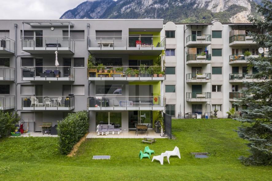 Superbe appartement aux finitions soignées avec beau jardin - 13