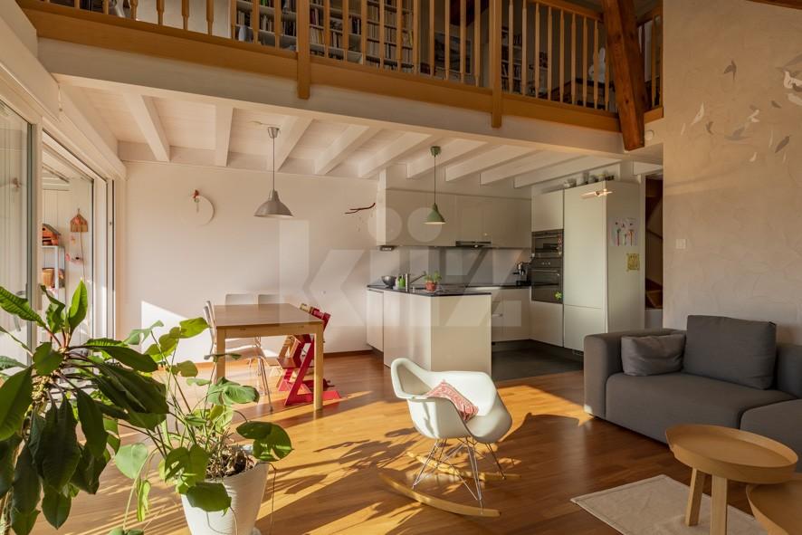 VENDU! Très bel appartement moderne et chaleureux - 4