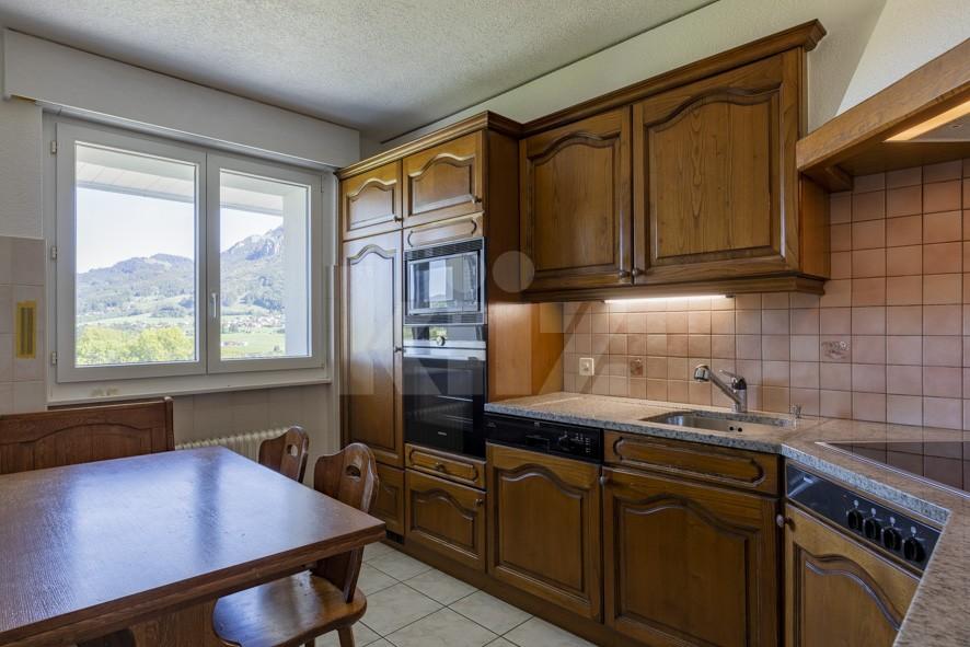 Charmant appartement avec superbe vue sur les Dents de Broc - 8