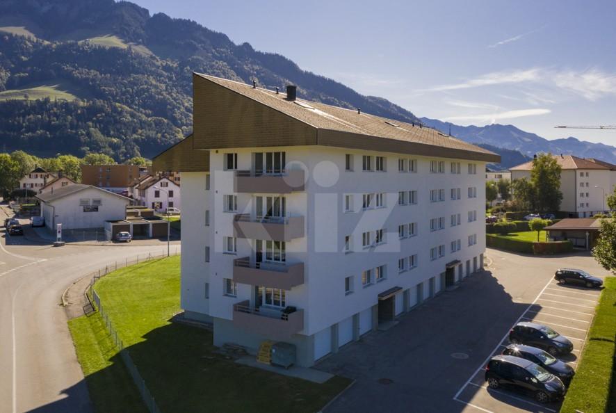 Charmant appartement avec superbe vue sur les Dents de Broc - 12