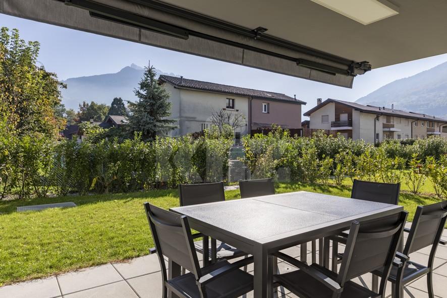 Très bel appartement avec grande terrasse et jardin de 200m2 - 12