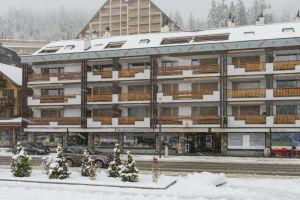 Au centre de Crans Montana, bel appartement avec cheminée