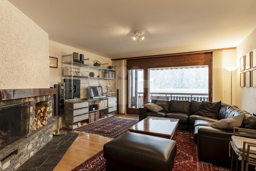 VENDU! Bel appartement avec cheminée - 3