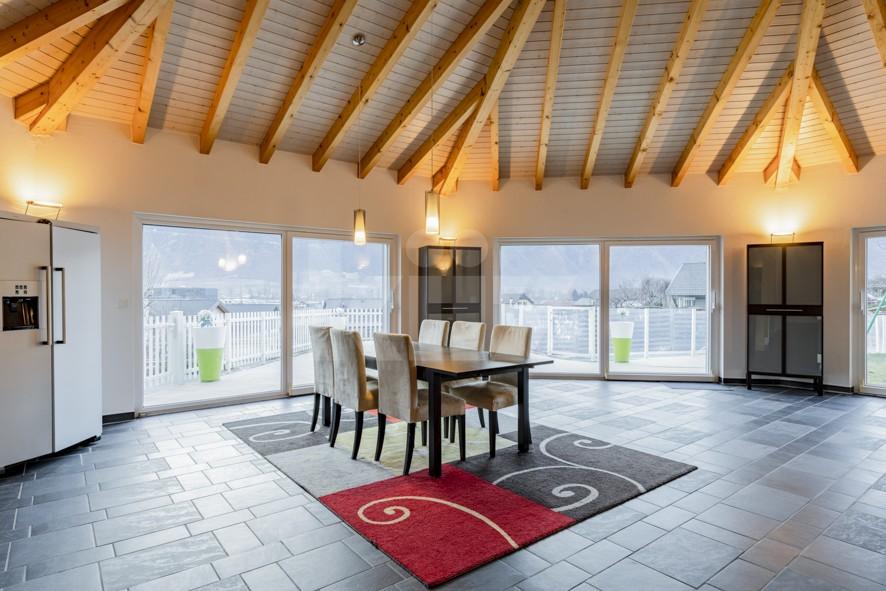 Superbe villa individuelle avec piscine et vue sur les Alpes - 3