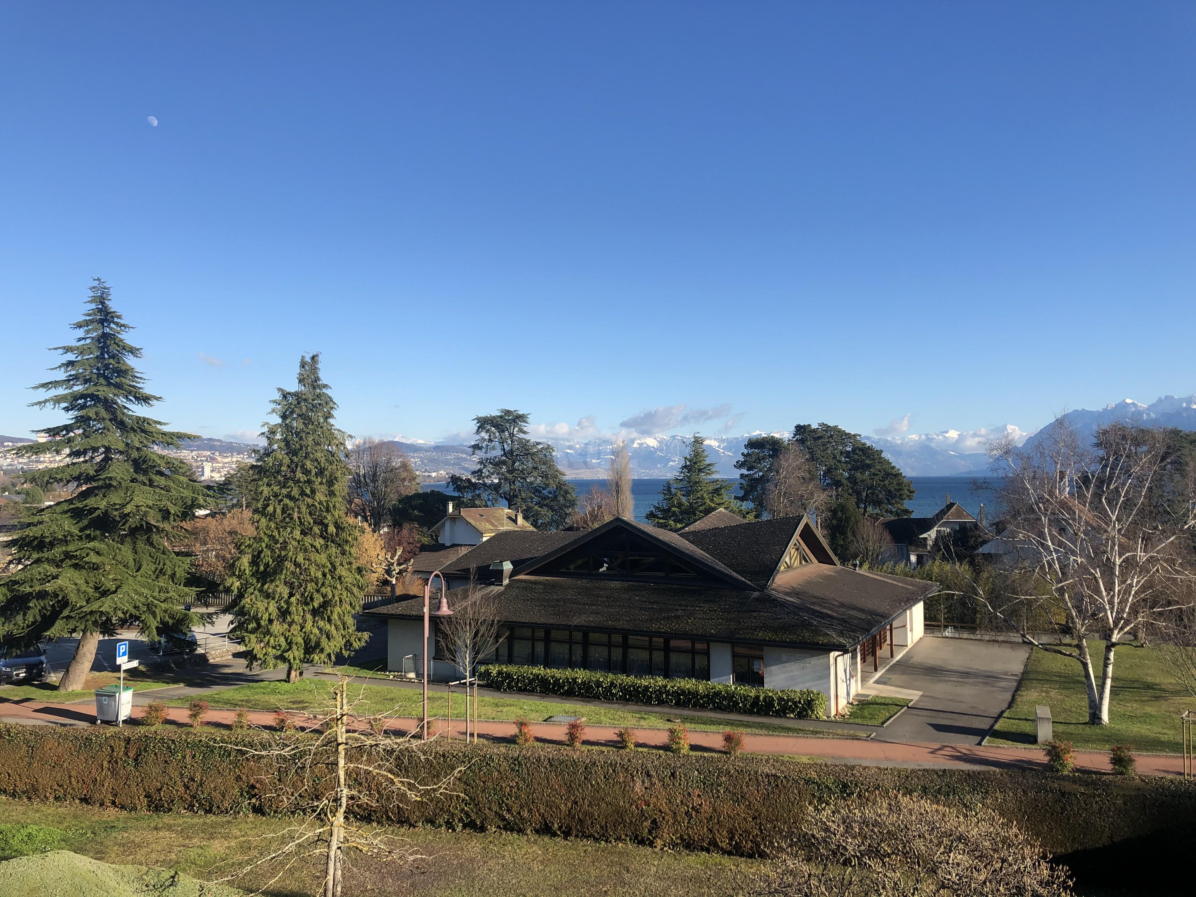 Duplex avec vue panoramique sur le lac Léman et les Alpes - 2