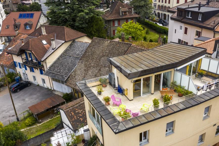 Magnifique triplex avec deux terrasses de 50 m2 - 2