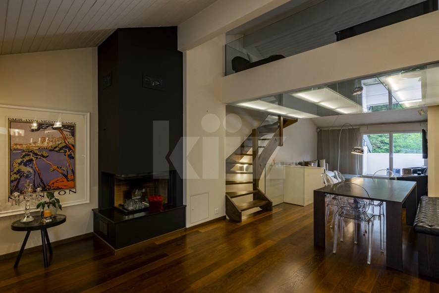 Magnifique duplex contemporain avec mezzanine - 5