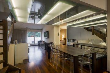 Magnifique duplex contemporain avec mezzanine