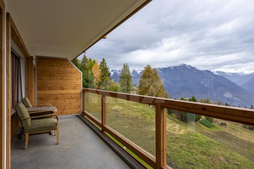 Bel appartement avec vue magnifique sur la vallée du Rhône - 10