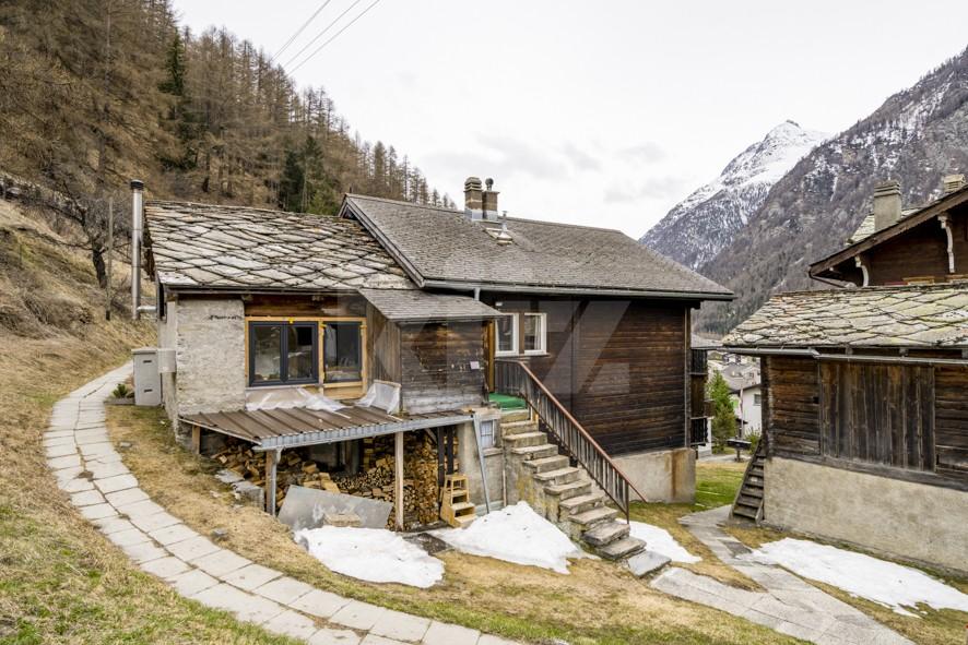 Charmante Duplexwohnung 5Min mit dem Zug von Täsch (Zermatt) - 12