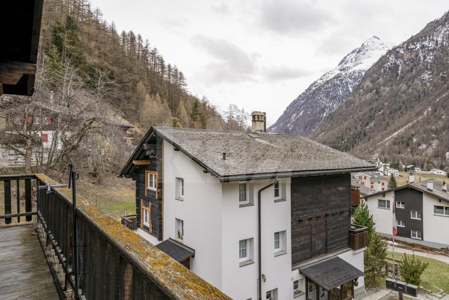 Charmant duplex à 5min en train de Täsch (Zermatt) - 11