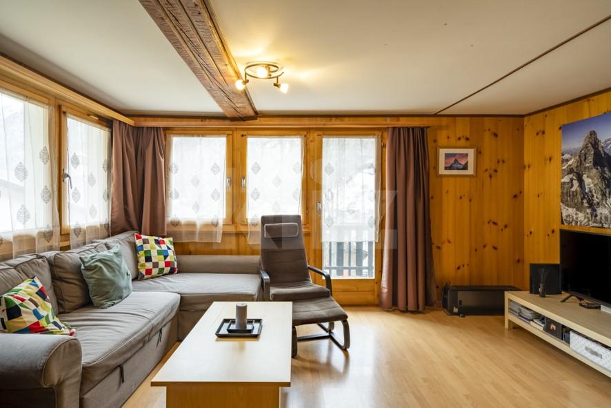 Charmant duplex à 5min en train de Täsch (Zermatt) - 2