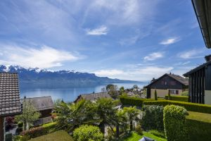 Charmante villa mitoyenne avec vue panoramique sur le Lac