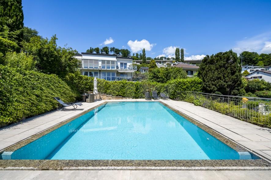 Objet rare! Exceptionnelle villa familiale avec piscine - 12