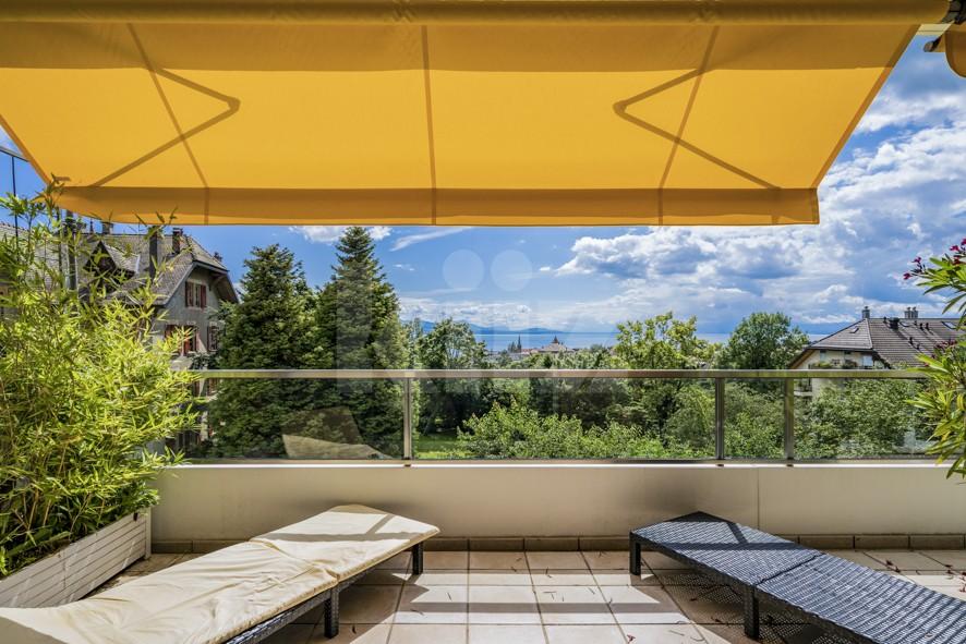Objet rare! Superbe appartement avec vastes terrasses - 10