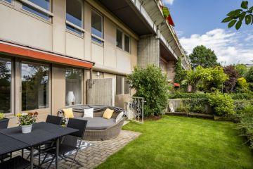 Charmant duplex rénové avec jardin