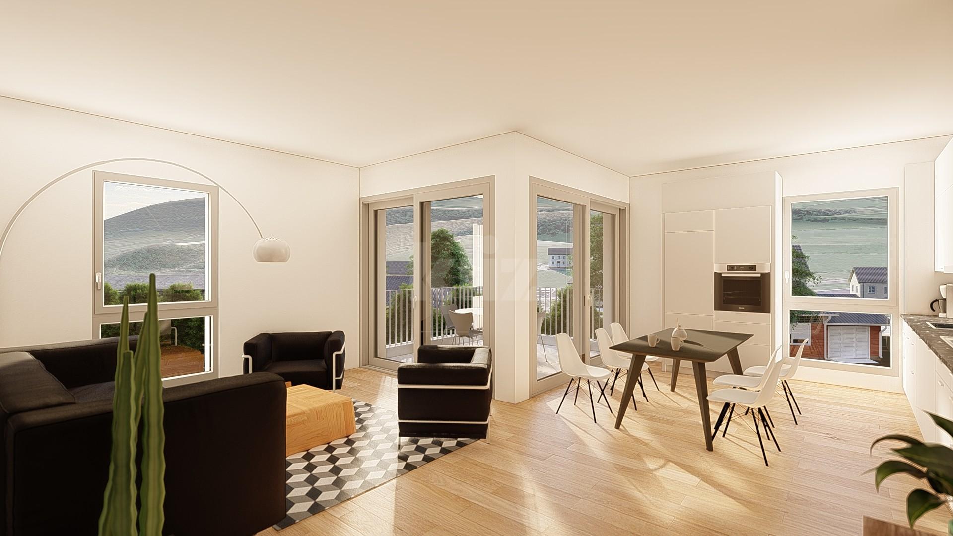 NEUF: lumineux et spacieux appartements de 4,5p - 1