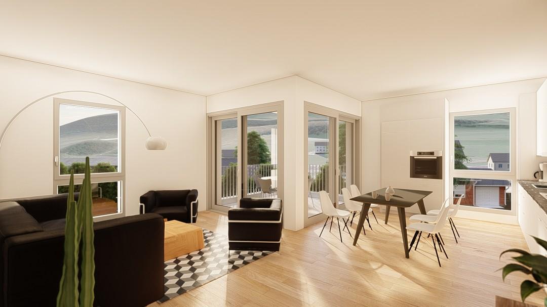 NEUF: lumineux et spacieux appartements de 4,5p - 12
