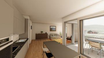 NEUF: lumineux et spacieux appartements de 3,5p