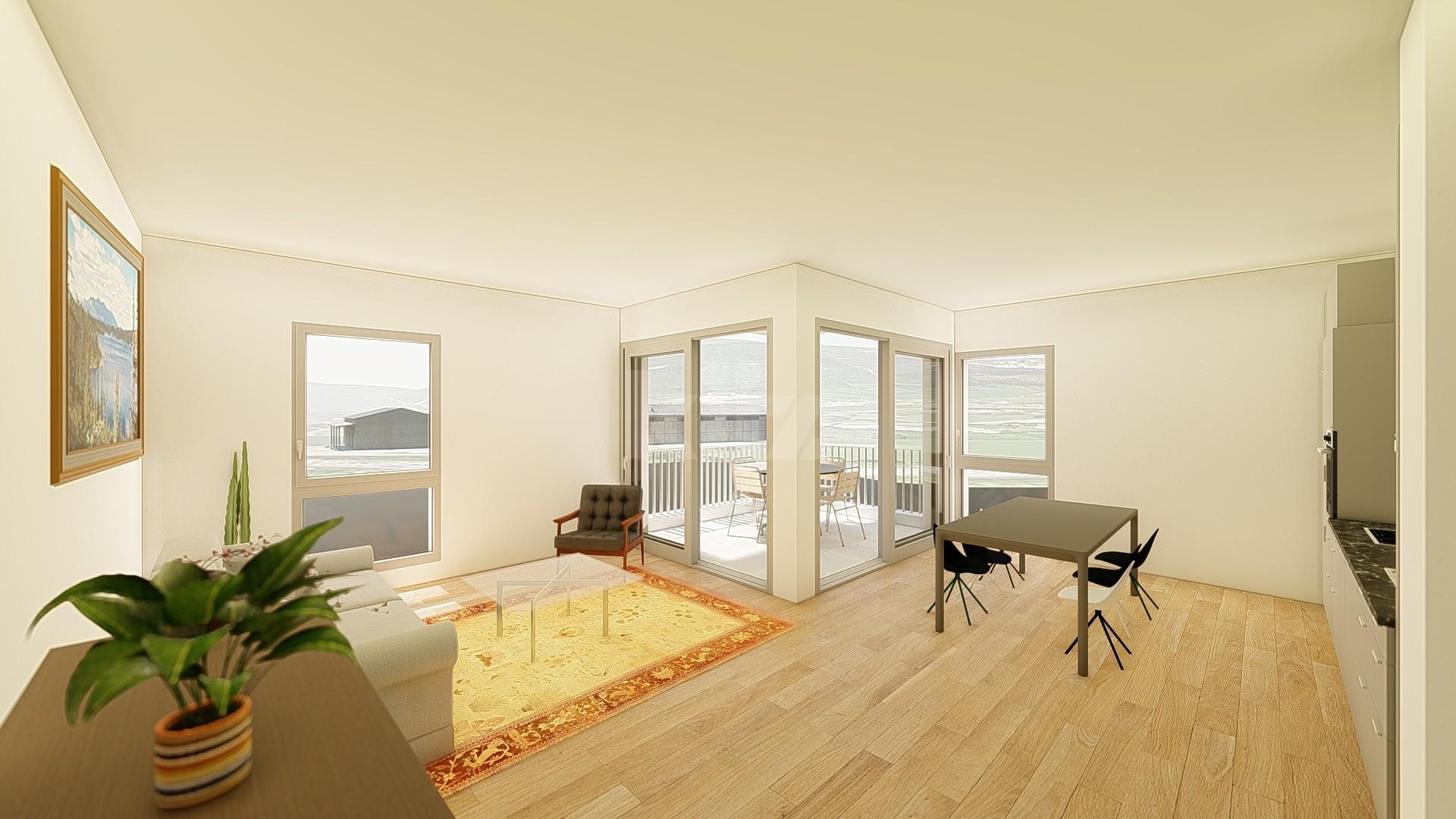 NEUF: lumineux et spacieux appartements de 3,5p - 2