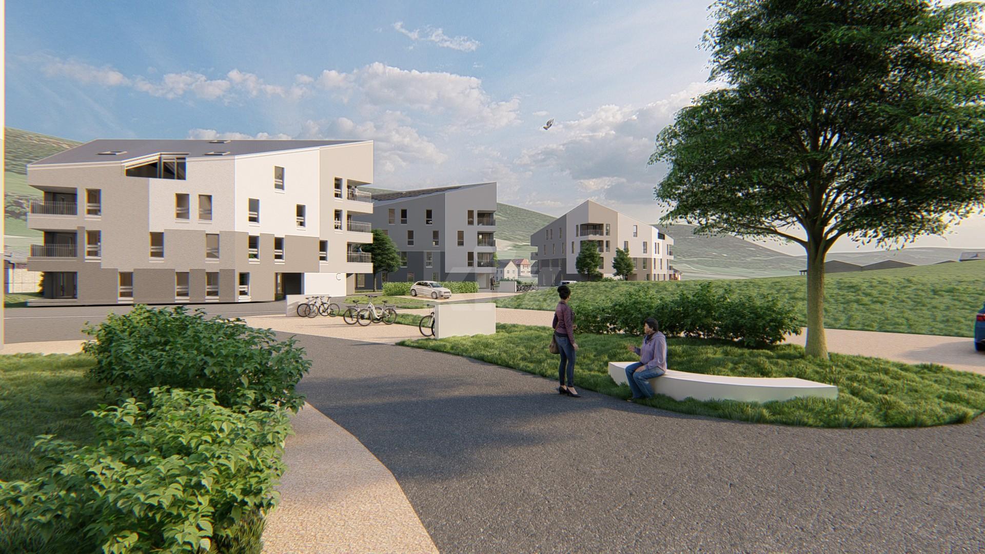 NEUF: lumineux et spacieux appartements de 3,5p - 10