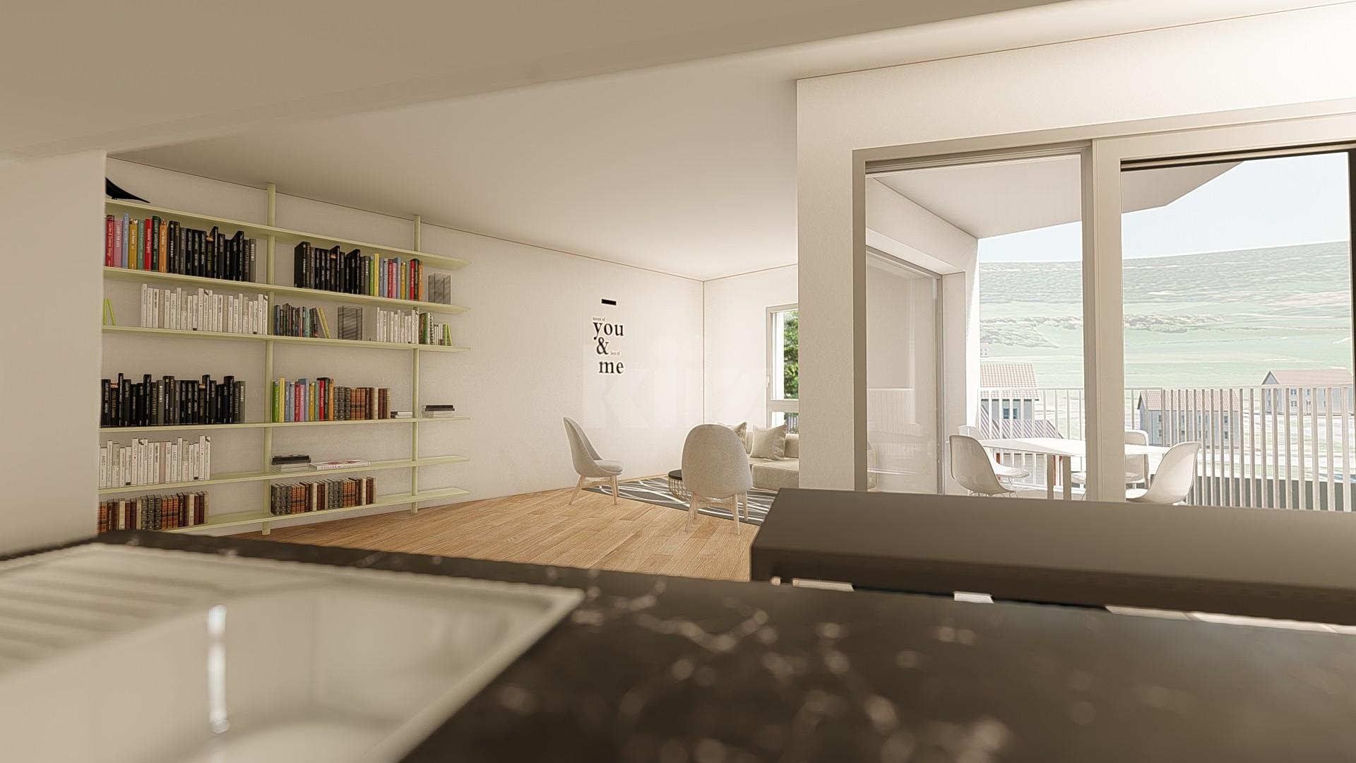 NEUF: lumineux et spacieux appartements de 2,5p - 2